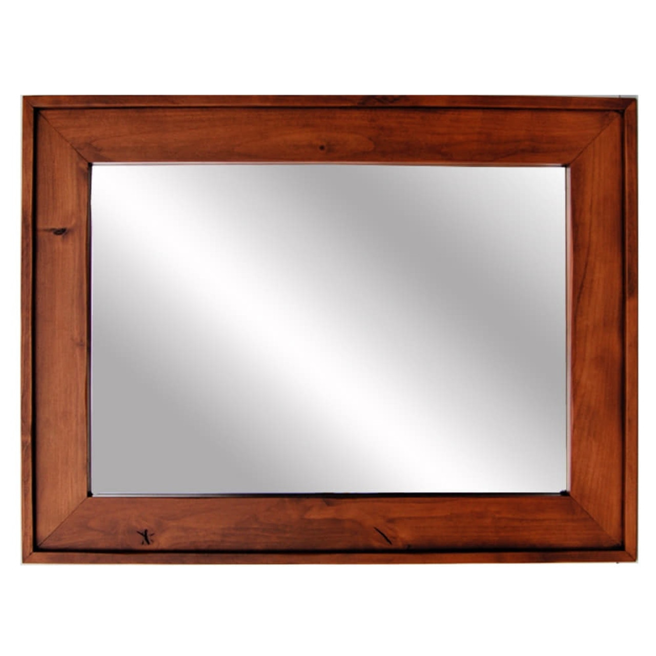 mirrors for bathrooms vanities rustic mirrors cherry stained wood mirror custom 19536