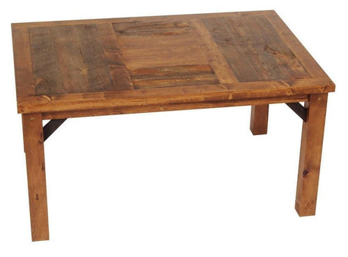 Reclaimed Barnwood Dining Table, Wyoming ...