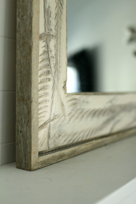 Rustic Mirrors Denali Heavily Distressed Free Shipping