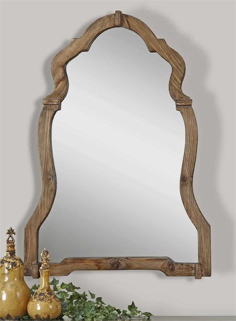 Rustic Mirrors Reclaimed Wood Distressed Wood Iron