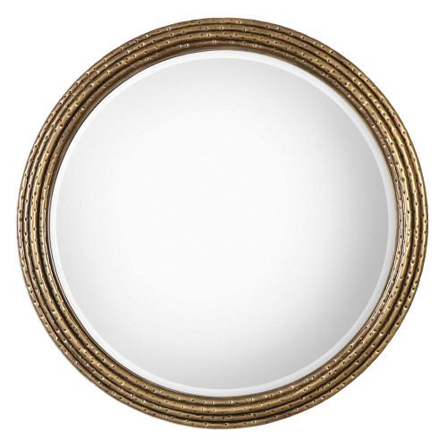 Uttermost Spera Round Gold Mirror Mybarnwoodframes Com
