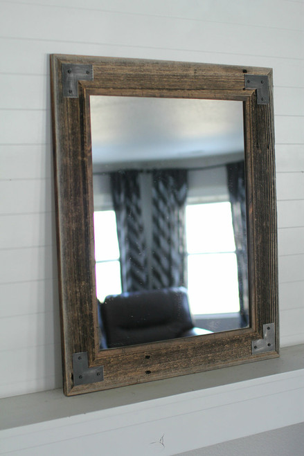 Industrial Mirror With Modern Farmhouse Style Montana Mirror