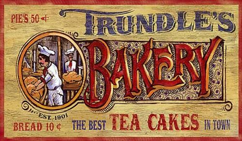 Nostalgic Vintage Bakery Signs