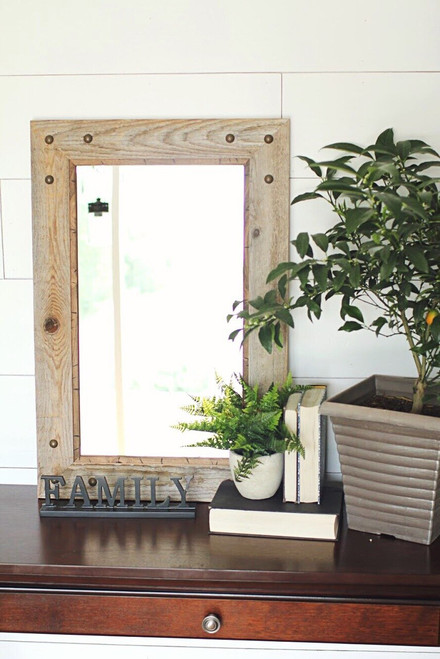 Reclaimed Wood Mirrors - Custom Sizes and Styles - Free Shipping