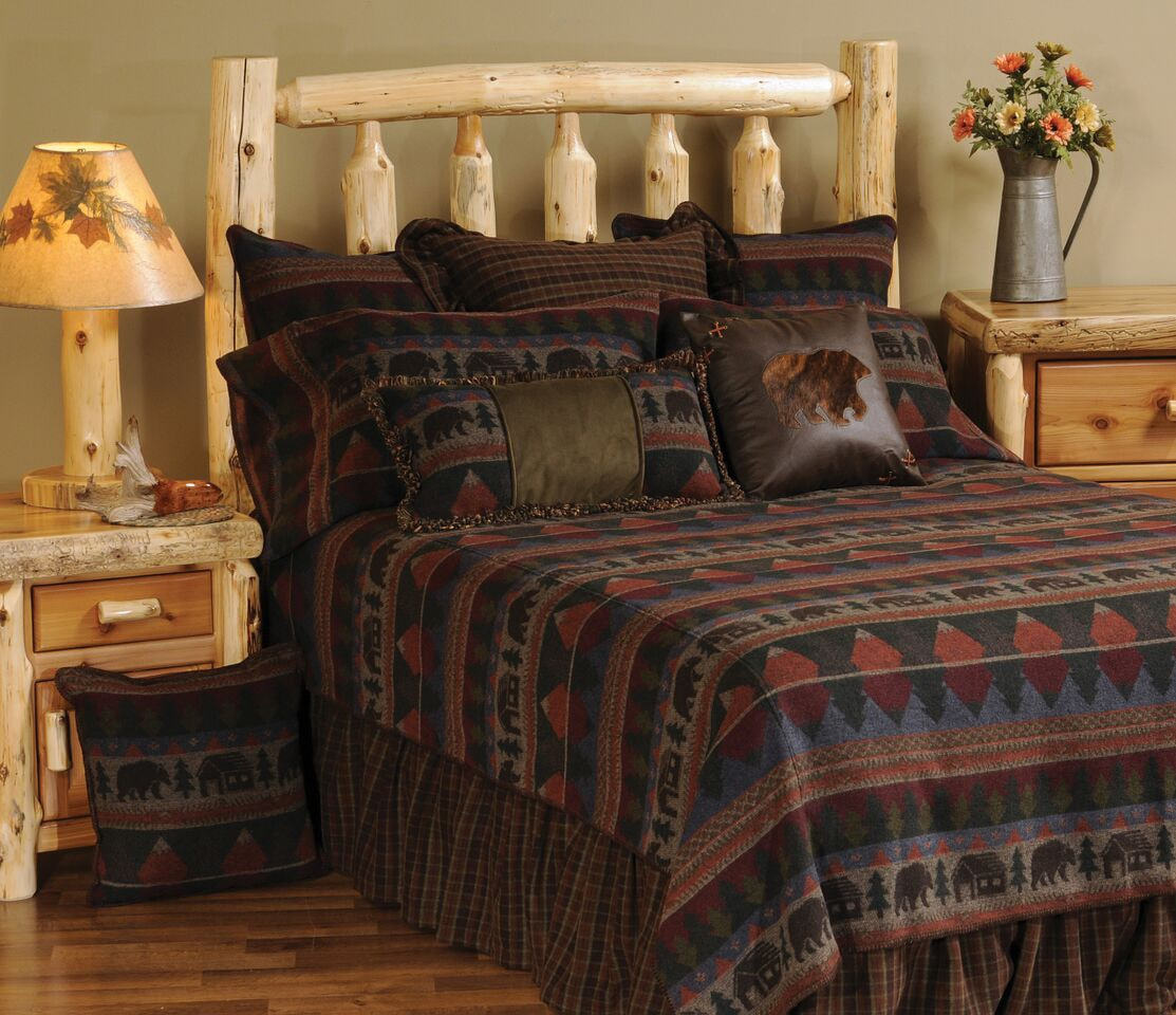 Cabin Bear Bed Set