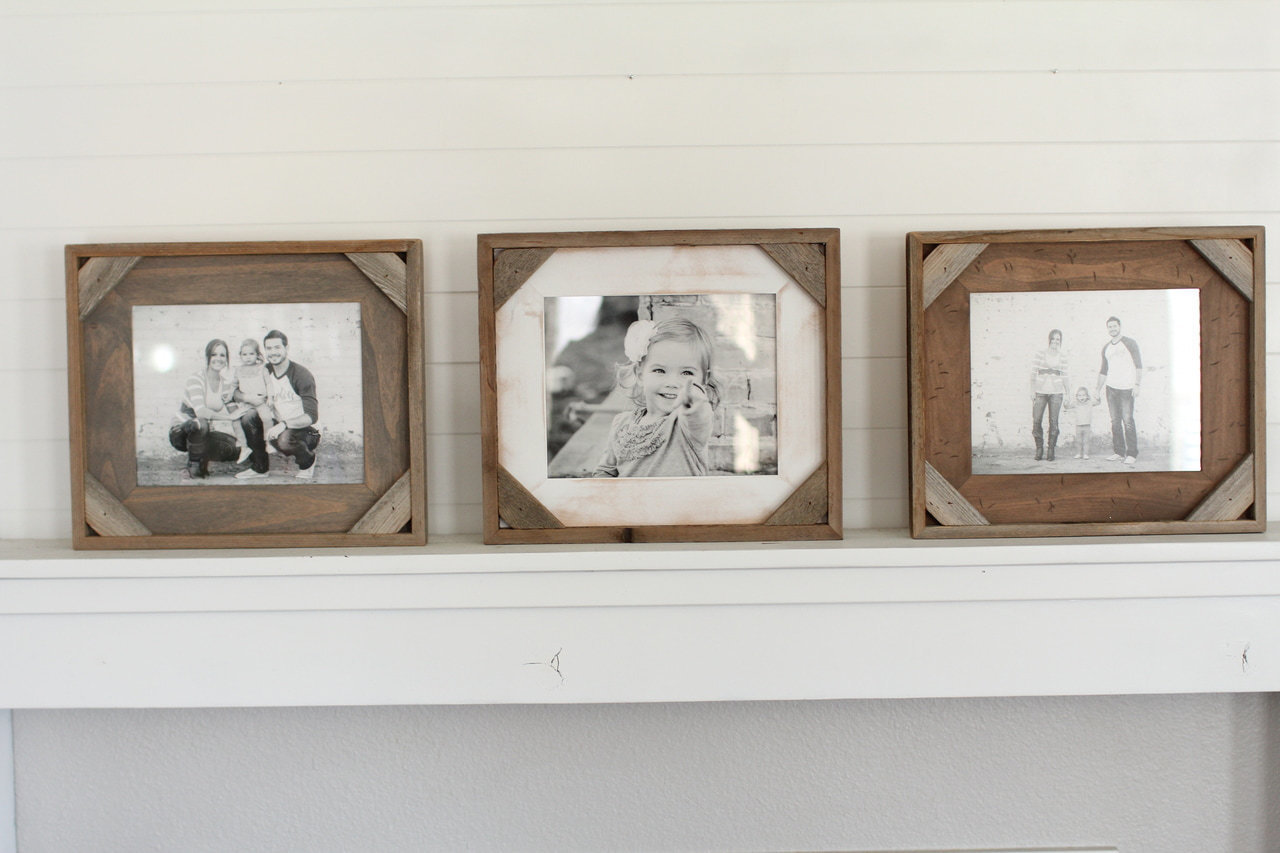 Barnwood Frames | Rustic Reclaimed Wood Picture Frames | Custom Sizes