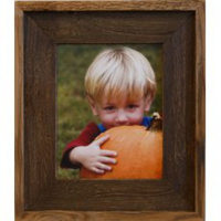 Brown Wash Barnwood Frame