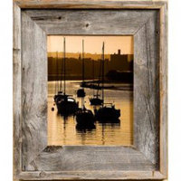 "Lighthouse 2.75"" Wide Barnwood Picture Frame"