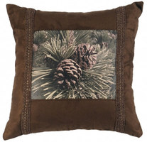 Faux Leather & Fabric Pillows