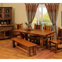 Rustic Kitchen and Dining Room Furniture