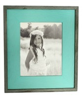 Mint Wash Barnwood Frame
