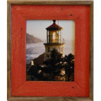 Red Wash Barnwood Frame