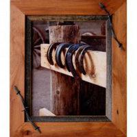 Sagebrush Rustic Frames-Alder & barbed wire