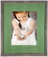 Mint Wash Barnwood Frame