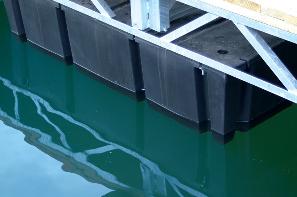 "HarborWare 3' x 10' x 24"" Dock Float Drums, 3200lbs"