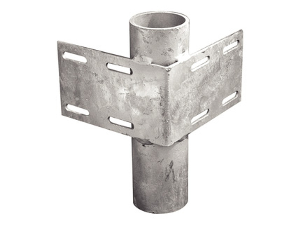 Tie Down Engineering Heavy-Duty Inside Corner Bracket w/ 2'' Pipe Holder