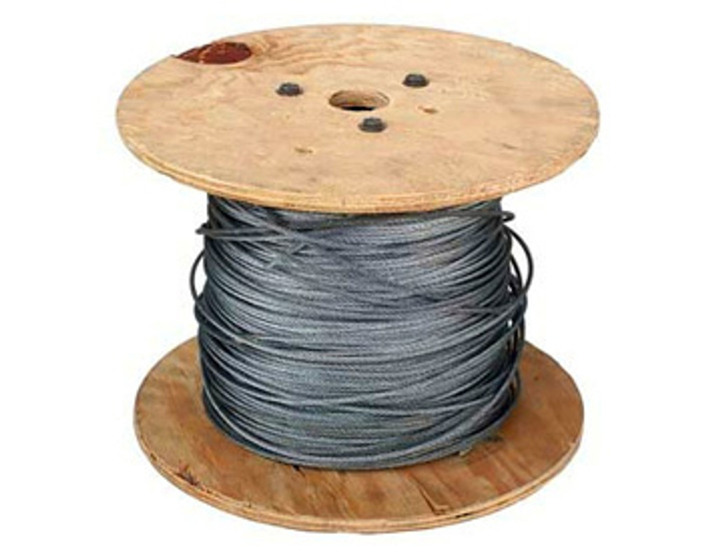 HarborWare Stainless Steel Cable, 3/8-inch 250'