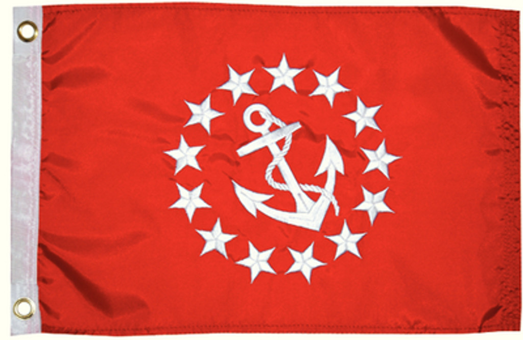 "Taylor Made Flag 12"" x 18"" Vice Commodore"