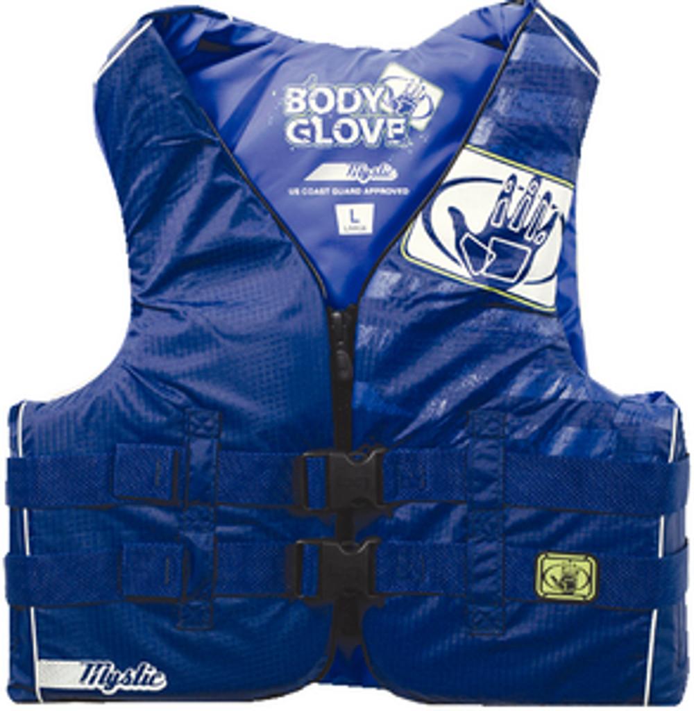 Body Glove Mystic Nylon Vests, Mens