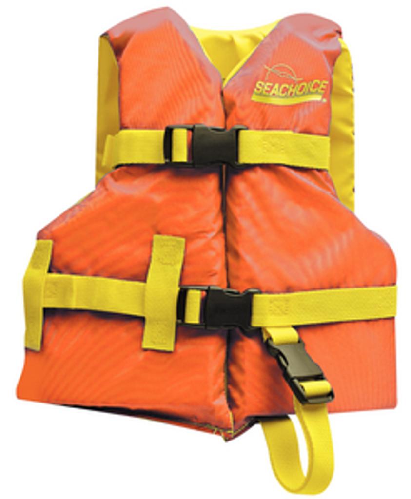 Seachoice Universal Boat Vest, Orange/Yellow