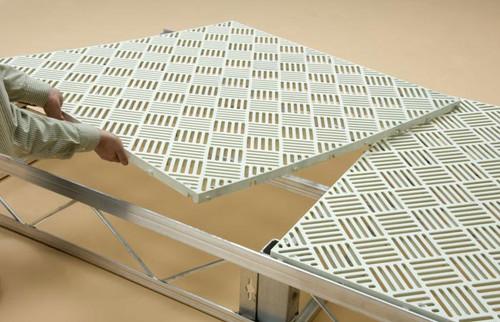 HarborWare Plastic Grate Decking Panels, 3' x 4'
