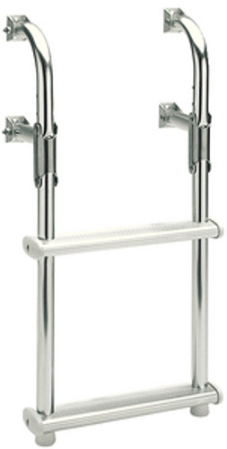 Garelick 3 Step Folding Transom Ladder
