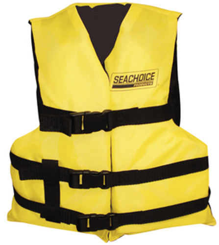 Seachoice General Purpose Boat Vest, Yellow
