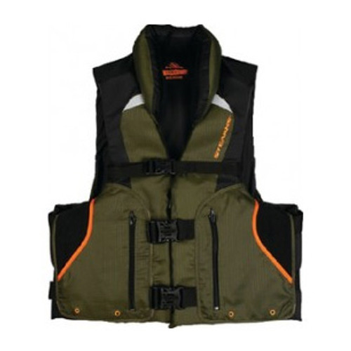 Stearns Adult Competitor Fishing PFD Vest, Green