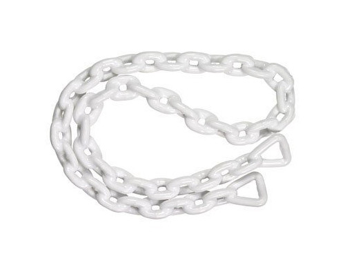 "Seachoice PVC Coated Anchor Lead Chain, 1/4""x4'"