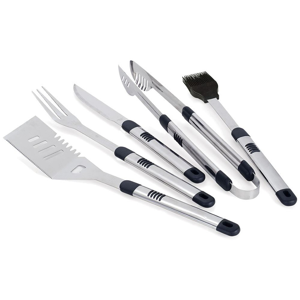 Fiero 5-Piece BBQ Tool Set