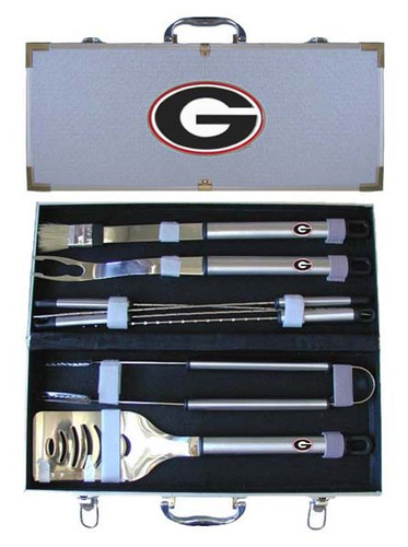 Georgia Bulldogs BBQ Tool Set