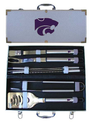 Kansas State Wildcats BBQ Tool Set