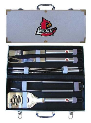 Louisville Cardinals BBQ Tool Set
