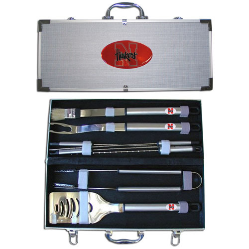 Nebraska Cornhuskers BBQ Tool Set