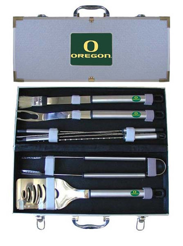 Oregon Ducks BBQ Tool Set