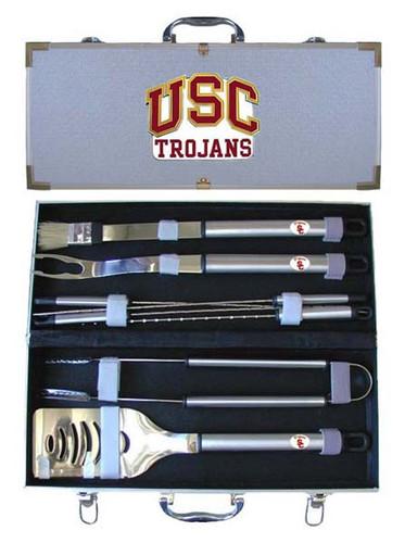 USC Trojans BBQ Tool Set