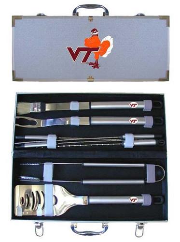 Virginia Tech Hokies BBQ Tool Set