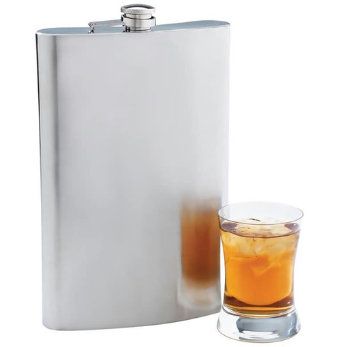 64 oz Stainless Steel Flask