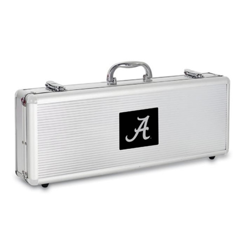 Alabama Crimson Tide BBQ Tools and Engraved Case