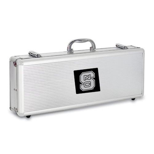 North Carolina State Wolfpack BBQ Tools and Engraved Case