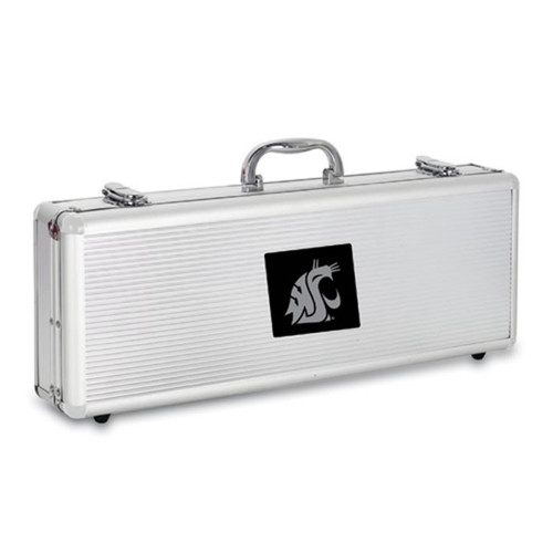 Washington State Cougars BBQ Tools and Engraved Case