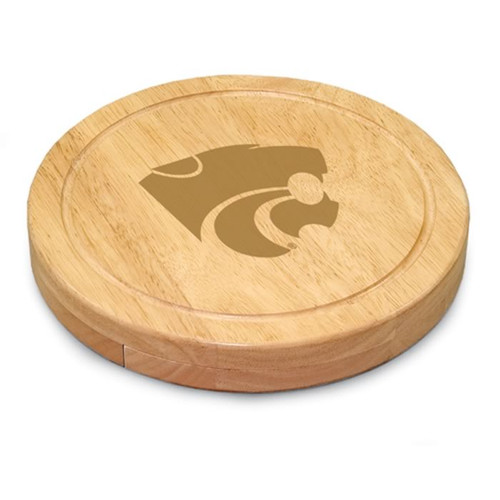 Kansas State Wildcats Engraved Cutting Board