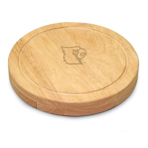 Louisville Cardinals Engraved Cutting Board