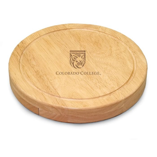 Colorado College Tigers Engraved Cutting Board