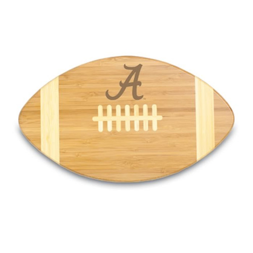 Alabama Crimson Tide Engraved Football Cutting Board
