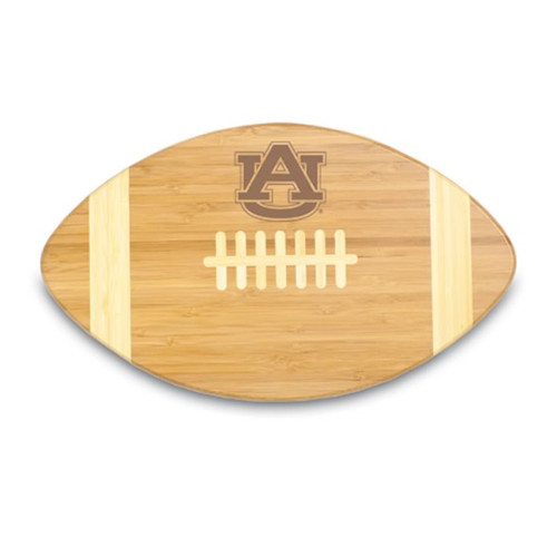 Auburn Tigers Engraved Football Cutting Board