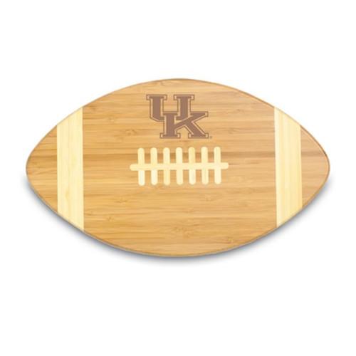 Kentucky Wildcats Engraved Football Cutting Board