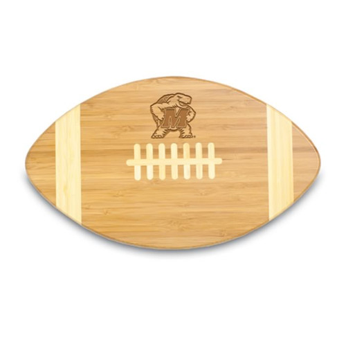 Maryland Terrapins Engraved Football Cutting Board