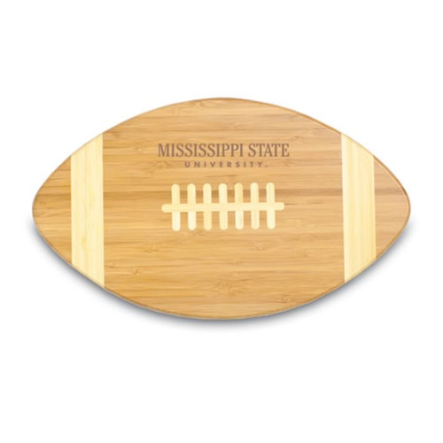 Mississippi State Bulldogs Engraved Football Cutting Board