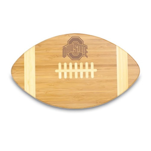 Ohio State Buckeyes Engraved Football Cutting Board